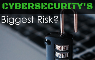 Are You Cyber Security Biggest Risk