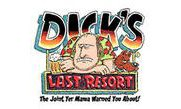 dicks resort home logo